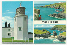 John Hinde Original Postcard, 3DC170, The Lizard Multiview