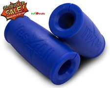 Yes4All Fat Xtreme Hand Grip Thick Bar Muscle Lift Fitness Gym - Blue - ²WA0AH4