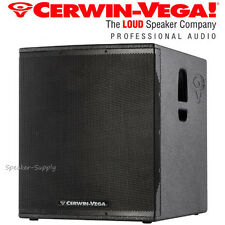 "Cerwin Vega CVX-21S 21"" 2000 Watt Powered Subwoofer Speaker DJ Pro LIve PA New"