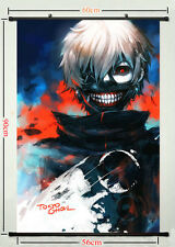 Tokyo Ghoul Anime Silk Fabric Poster Wall Scroll Living Room Decoration TG07