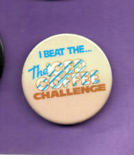 I Beat The Iced Coffee Challenge  - Button  badge 1980'e