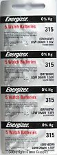 20 pcs 315 Energizer Watch Batteries SR716SW SR716 0% HG
