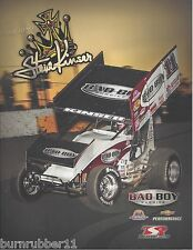 "2013 STEVE KINSER ""BAD BOY BUGGIES #11"" WORLD OF OUTLAWS SPRINT CAR POSTCARD"