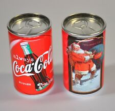 Coca-Cola USA miniatura Sempre Coke Lattina mini Lattina Motivo Santa im Neve
