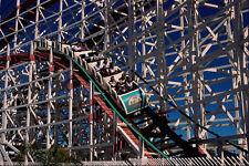 438029 roller coaster Belmont Park Mission Beach A4 papier photo