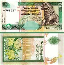 SRI LANKA 10 RUPEES 2006 UNC REPLACEMENT Z / I  P.115