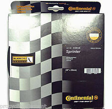 "NEW 2017 CONTINENTAL SPRINTER Tubular Road Tire Black Chili: 28"" x 22mm 700c"
