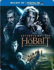 The Hobbit: An Unexpected Journey Blu Ray Steelbook (3D, Extended Edition)