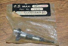 CRANKSHAFT FOR THE VINTAGE O.S. MAX ENGINE .58 R/C  NIB