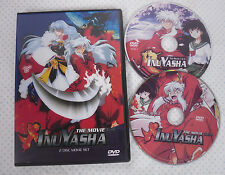 INUYASHA, 4 MOVIE COLLECTION; 2 Disc, Free USA Shipping, Region Free! In English