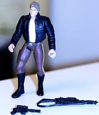 1997 Star Wars POTF Bespin Han Solo Action Figure w/heavy assault rifle/blaster