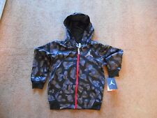 Authentic Nike Jordan Thermal Fit Zipper STITCH Hoodie Jacket Toddler M TAGS NEW