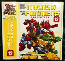 TRANSFORMERS TAKARA JAPAN REISSUE # 12 MINIBOTS SET
