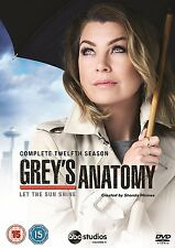 Grey's Anatomy Season 12 New & Sealed Region 2 DVD Boxset