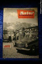 Motor Rundschau 17/56 (M) Opel Olympia Rekord 57 Borgward Isabella TS Buick 72