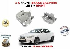 FOR LEXUS IS300 HYBRID 2013-  NEW 2 X  FRONT RIGHT+ LEFT SIDE BRAKE CALIPERS