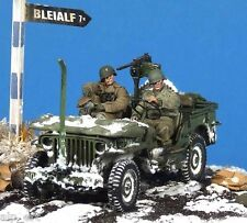 resin WWII US Driver & Officer 1/35 The Bodi