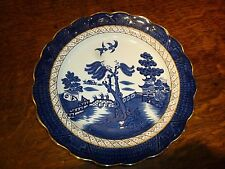 "Booths Real Old Willow Plate  A8025   9.75"" / 25cm ~~ Gold Edge ~~"