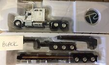 Tonkin Replicas 1/53 White International 9900 With Jeep And XL Cheater Lowboy