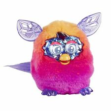 Furby Boom Crystal Series Orange Pink Electronic Talking Pet Ages 6+ Toy Hasbro