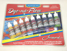 Jacquard Dye Na Flow Exciter Pack Silk Painting Batik Starter Set Fabric Paper
