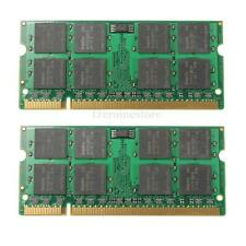 2GB (2x1GB) PC2-6400 DDR2 800 MHz Laptop (SODIMM) Memory Memoria RAM 200-pin