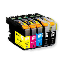 5 LC203XL High Yield Compatible Ink Cartridges For Brother MFC-J5520DW Printer