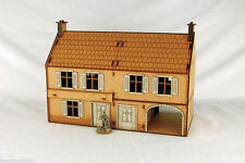 WW2 EUROPE LARGE FARMHOUSE 28mm Laser cut MDF Building Terrain N019