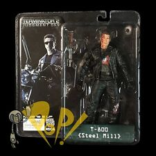 TERMINATOR 2 Judgment Day T-800 STEEL MILL Action Figure NECA Schwarzenegger T2!