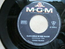 CONNIE FRANCIS 45 TOURS GERMANY BARCAROLE IN DER NACHT