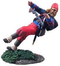 W.Britains ACW Union Infantry 114th Pennsylvania Verwundeter Zouave, 31112
