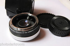 Super Albinar 2x Auto Teleconverter For Canon FD - Japan - Glass Good - USED D38
