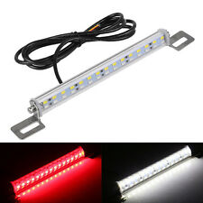 White+Strobe Red Dual 30 LED 12V Car High Mount Third Brake Stop Tail Light Lamp
