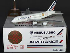 XX2451 AIRBUS A380-800 AIR FRANCE F-HPJE 'CHINA/FRANCE' JC Wings 1:200