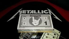 NEW METALLICA HardWired Collector's Edition Monopoly Money Pack RARE Christmas!
