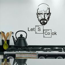 Lets cook breaking bad Walter White Wallpaper Wand Schmuck 56 x 70 cm Wandbild
