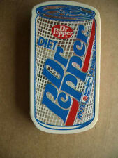 Vintage 1991 Diet Dr Pepper with NutraSweet magnet shaped like soda can-Rare!