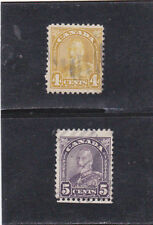 CANADA  KING GEORGE V ISSUES (1930 )   # 168 & # 169