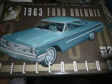 AMT 1963 Ford Galaxie HARDTOP MILLENIUM 1/25 Model Car Mountain KIT OPEN