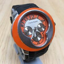 Stylish Charles Dumont Mens Unique Shape Analog Quartz Watch Hours~New Battery