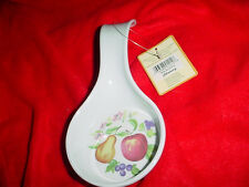 CORELLE CHUTNEY SPOON REST BRAND NEW WITH TAG! FREE USA SHIPPING