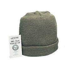 GENUINE ARMY O.D. 100% WOOL WATCH CAP