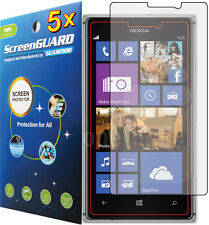5x Clear LCD Screen Protector Guard Shield Cover Saver Film for Nokia Lumia 925