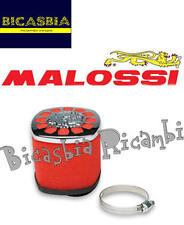 8294 - FILTRO ARIA MALOSSI RED FILTER E14 DM 38 DRITTO PER CARBURATORE PHBL 22