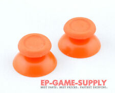 2x Orange Thumbstick Replacement for PS4 PlayStation 4 DualShock Controller