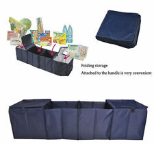 Tidy Shopping Storage Bag For Car Boot Trunk & Trolley 4 Bags Fit Together As 1
