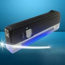 Portable Ultra Violet Black Light Lamp UV Blacklight Bank Note Checker Mini
