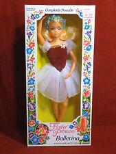 Flower Princess Ballerina Leeanna Doll by Creata 1983 MIB UNUSED