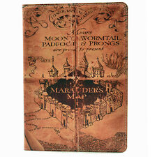 Harry Potter Marauders Map Leather Flip Stand Case Smart Cover Apple ipad Air II