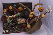 "Zombie Band from ""Nightmare Before Christmas"" Diorama Tim Burton Halloween"